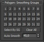 SMOOTHING GROUPS