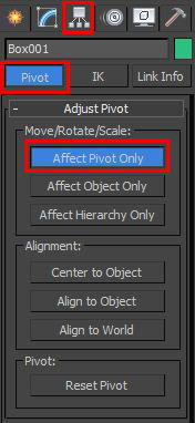 Pivot Point 3ds Max