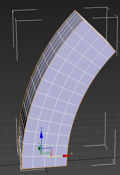 Modificatore BEND 3ds Max