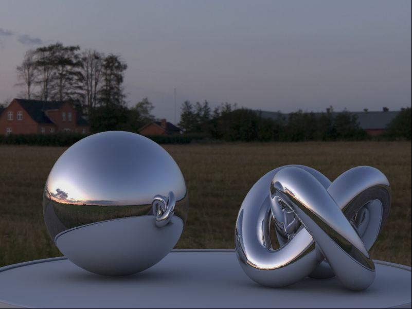 render HDRI 3ds MAx