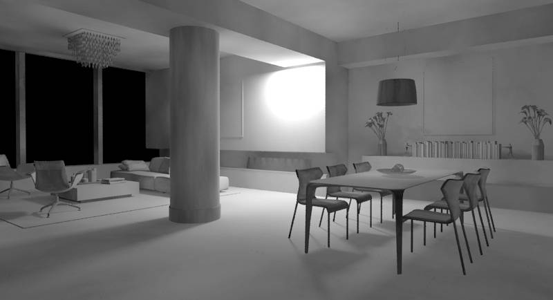 3ds Max Global illumination samples