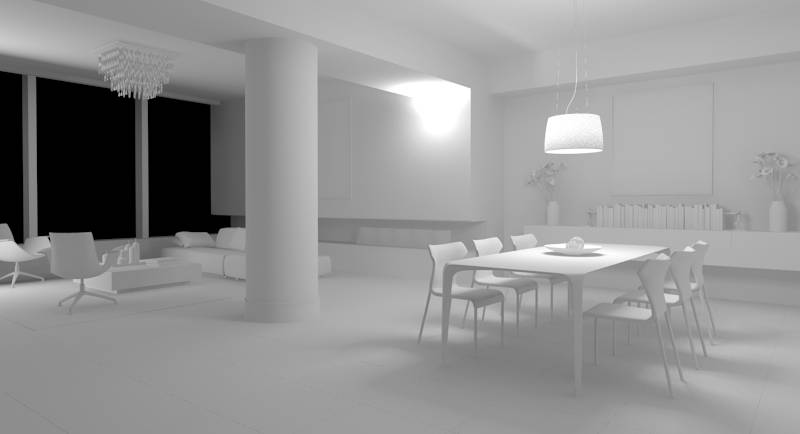 3ds max luci interne