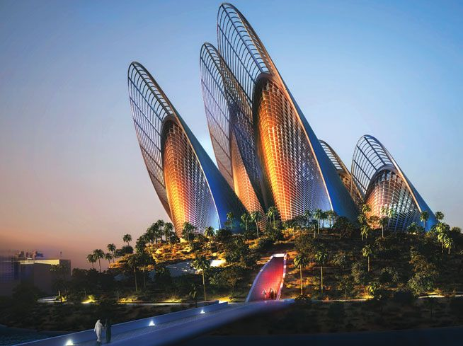 Zayed National Museum Abu Dhabi Foster & Partners