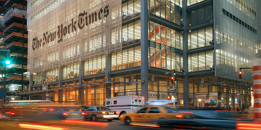 Renzo Piano New York Times Building New York