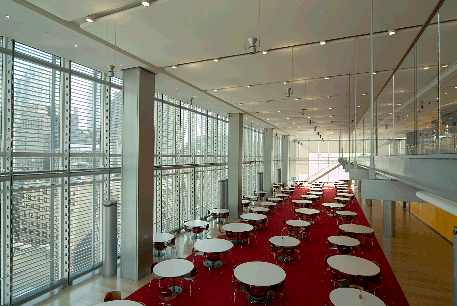 Renzo Piano New York Times Building interni