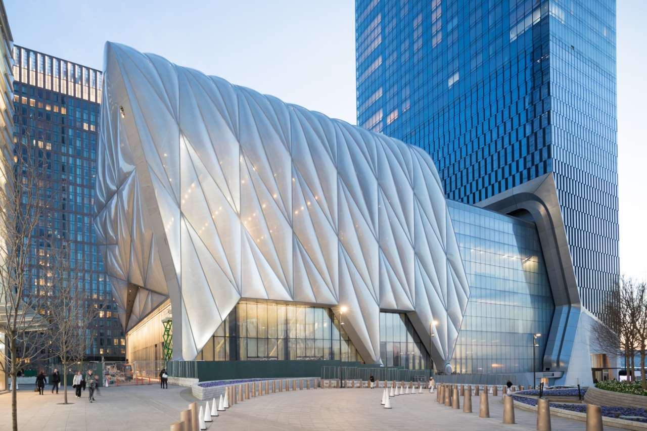the Shed- centro culturale a New York Diller Scofidio + Renfro