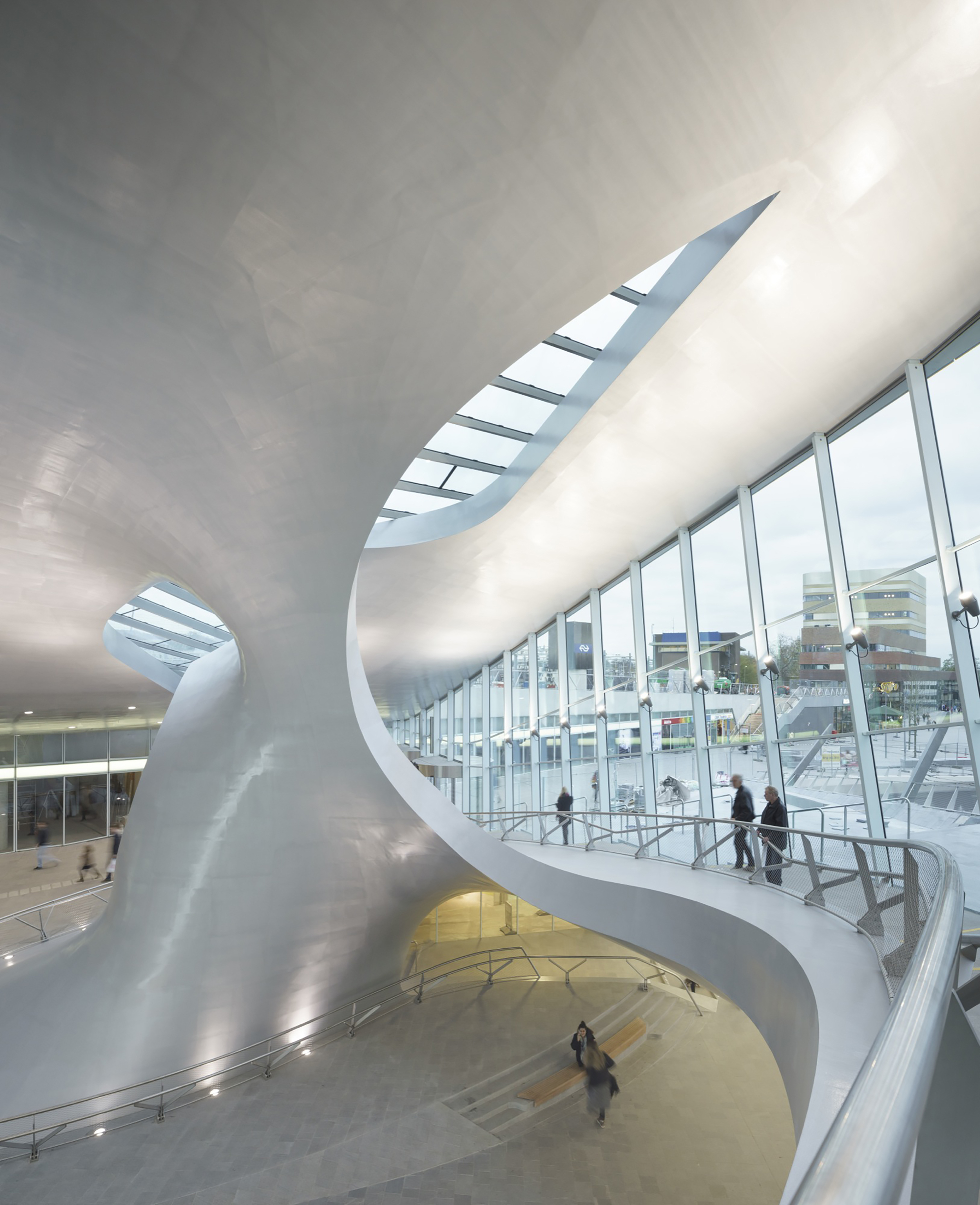 Arnhem Center Transfer Terminal - UNStudio